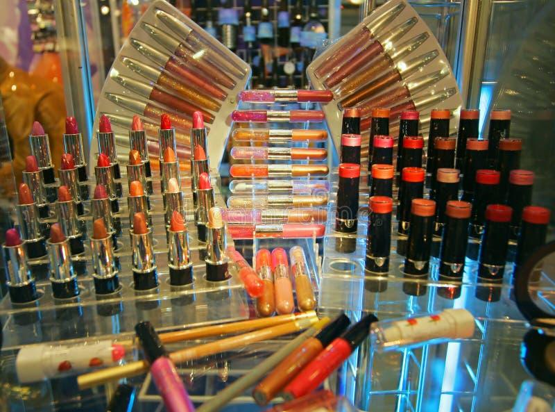Rohre des Lippenstifts lizenzfreies stockfoto