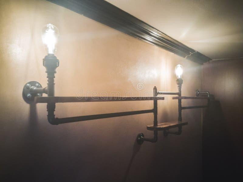 Rohrlichter stockbilder