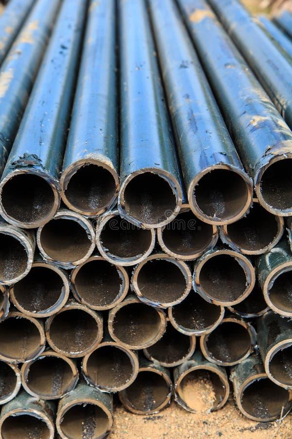 Rohrschnittindustrie und strukturelles lizenzfreie stockfotos