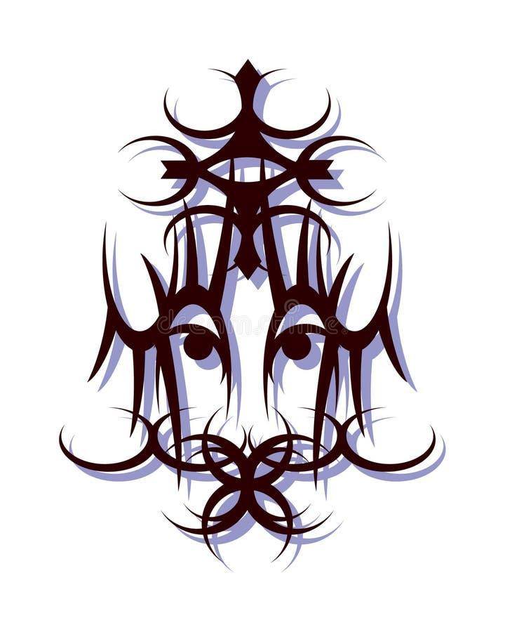 Roi africain illustration stock