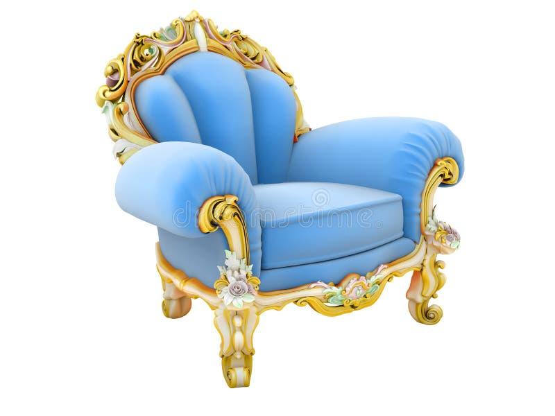roi de fauteuil illustration libre de droits