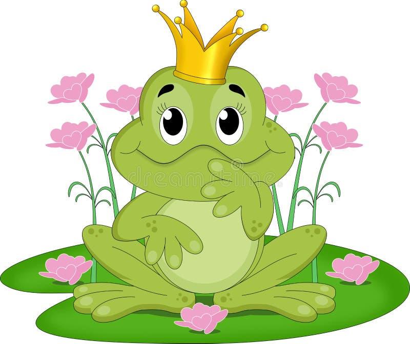 Roi de grenouille de conte de fées