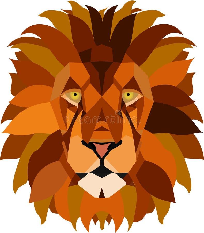 Roi de la jungle illustration de vecteur
