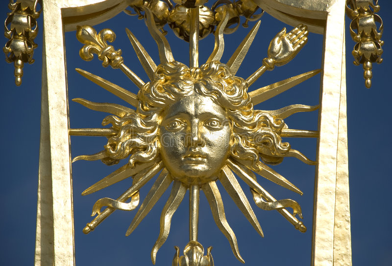Roi de Versailles Sun photos stock