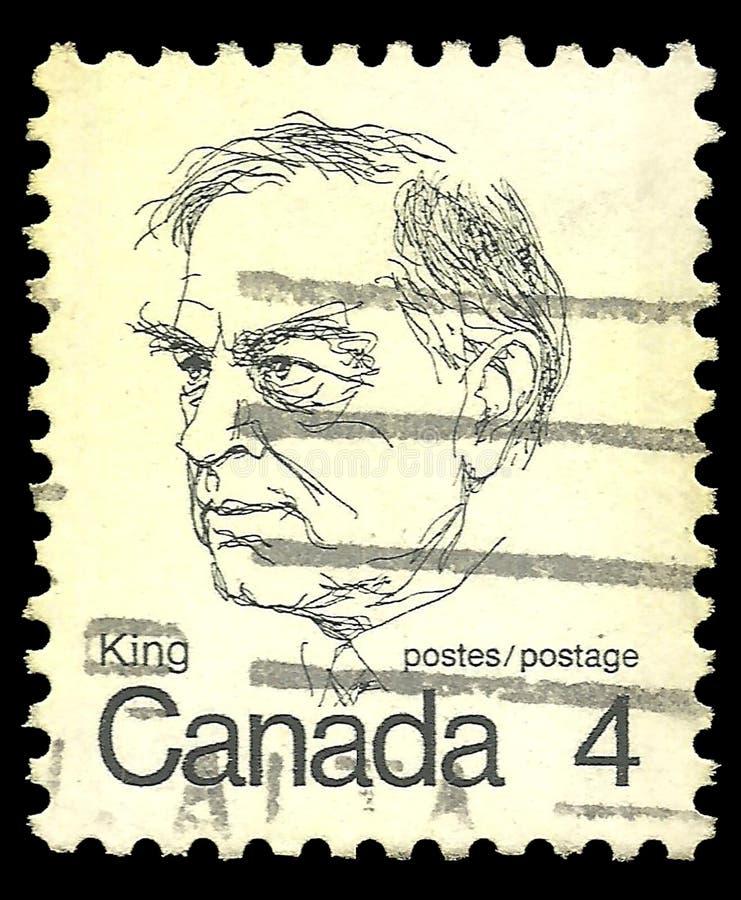 Roi de William Lyon Mackenzie image libre de droits