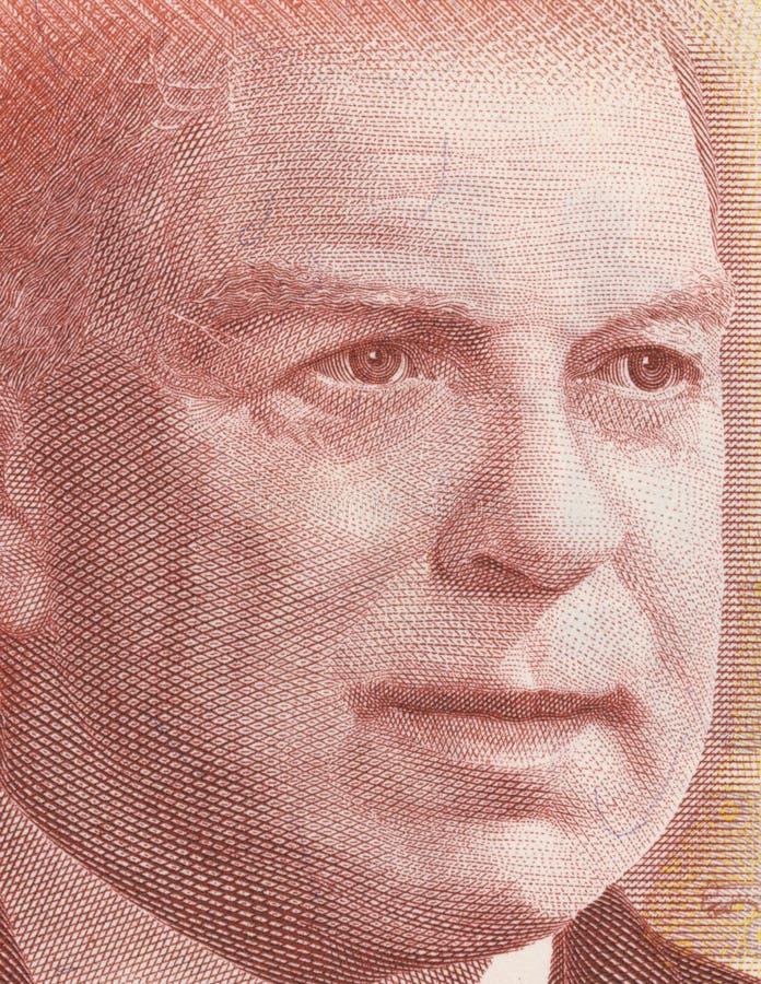 Roi de William Lyon Mackenzie images libres de droits