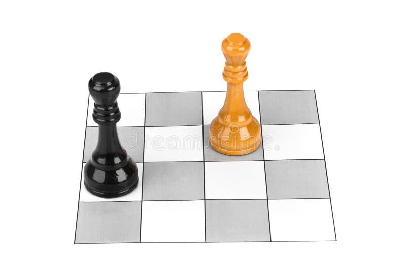 Rois d'échecs image stock