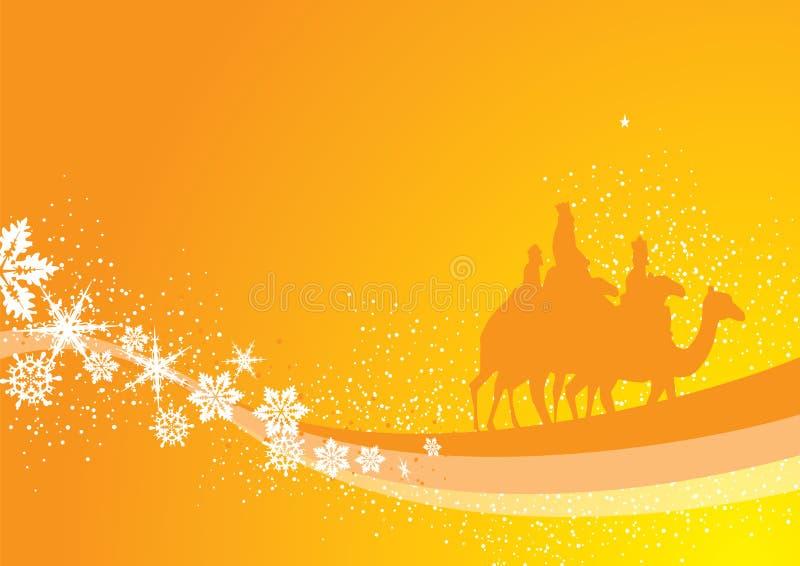 Rois de Noël illustration stock