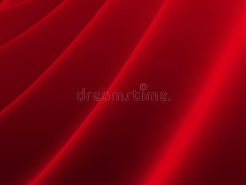 Rojo de la cortina imagen de archivo