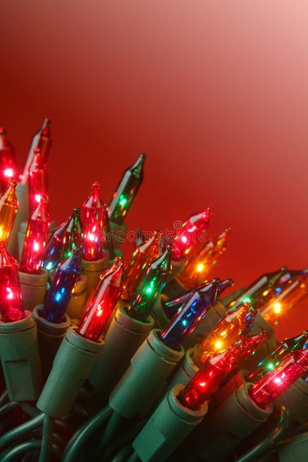 Rojo de la Navidad fotografía de archivo libre de regalías
