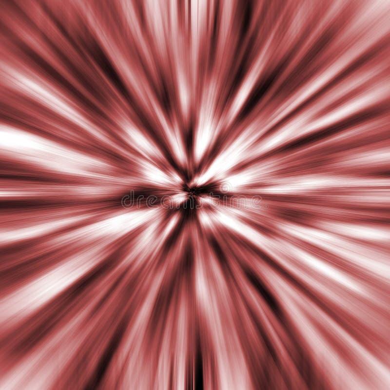 Rojo de la velocidad stock de ilustración