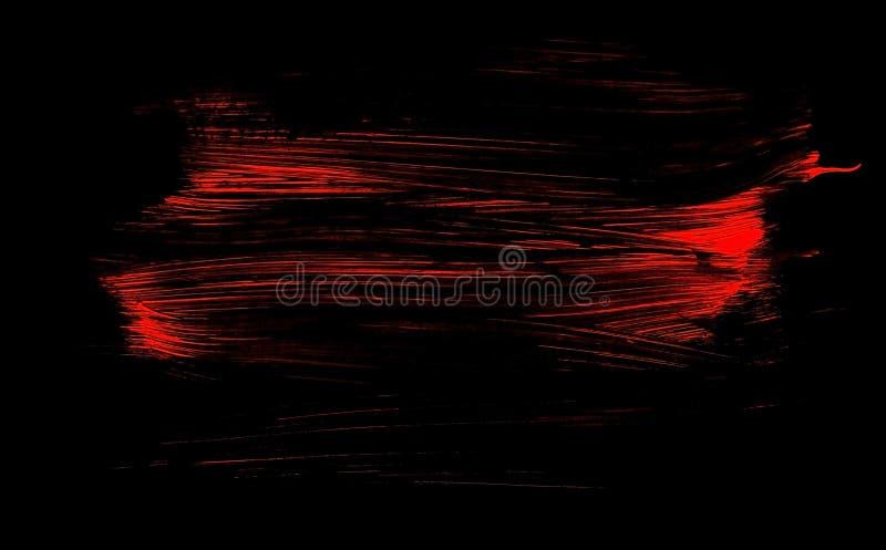 Download Rojo Del Extracto En Fondo Cepillado Negro Stock de ilustración - Ilustración de cepillo, grunge: 100532045