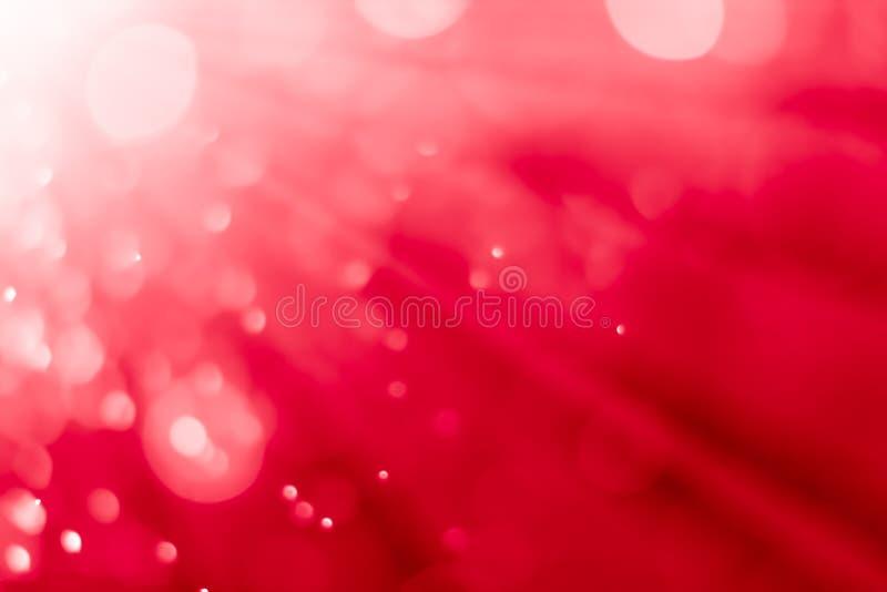 rojo del fondo del bokeh fotografía de archivo