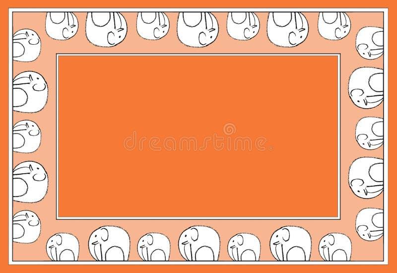 Rojo del modelo del elefante fotografía de archivo