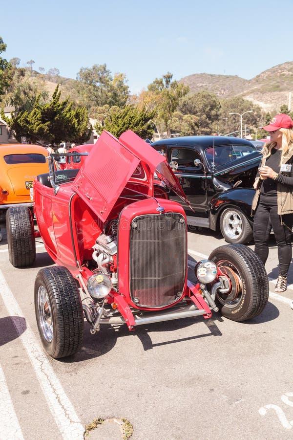 Rojo Ford Hi Boy 1932 foto de archivo