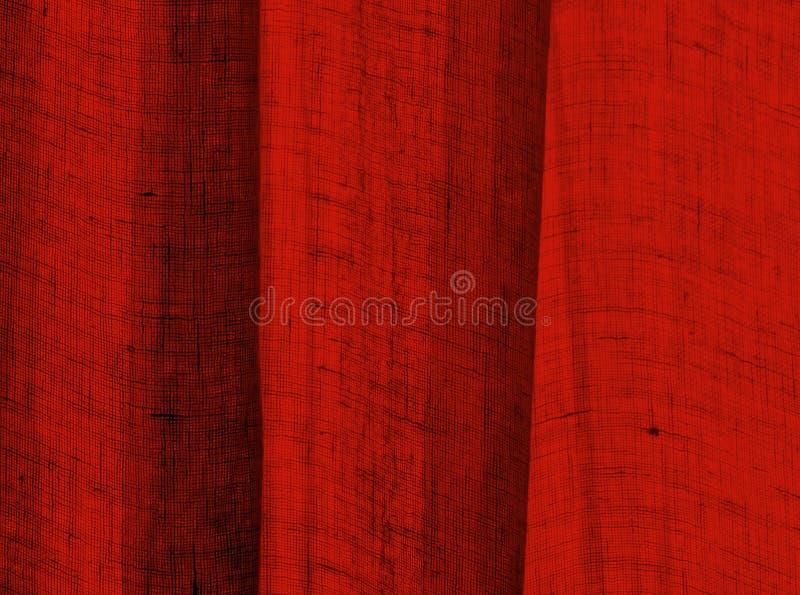 Rojo Textured fotografía de archivo