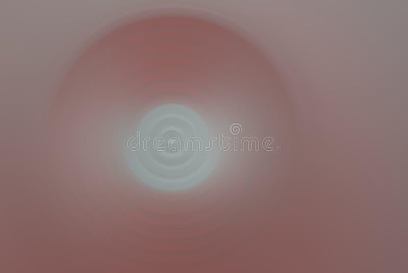 Rojo y de plata en la falta de definición suavemente radial fotografía de archivo libre de regalías