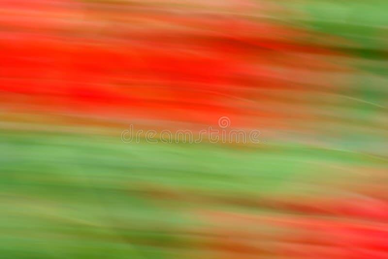 Rojo y verde en el movimiento imagenes de archivo
