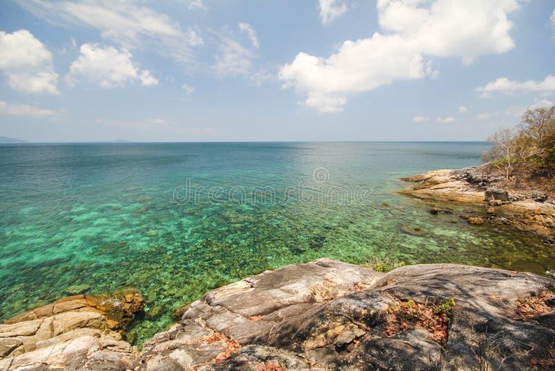 Rok罗伊海岛,酸值Rok罗伊, Satun,泰国 库存图片