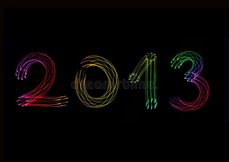 Rok 2013 zdjęcia stock