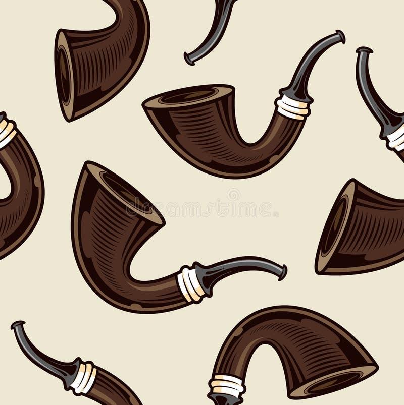 Rokende pijp vector illustratie