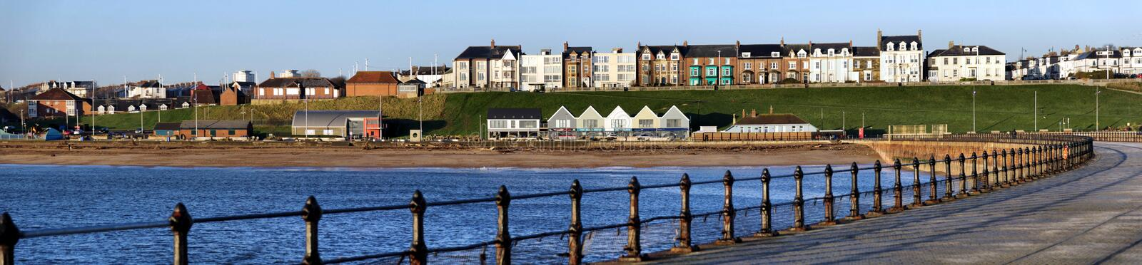 Roker Seafront from Pier royalty free stock photography