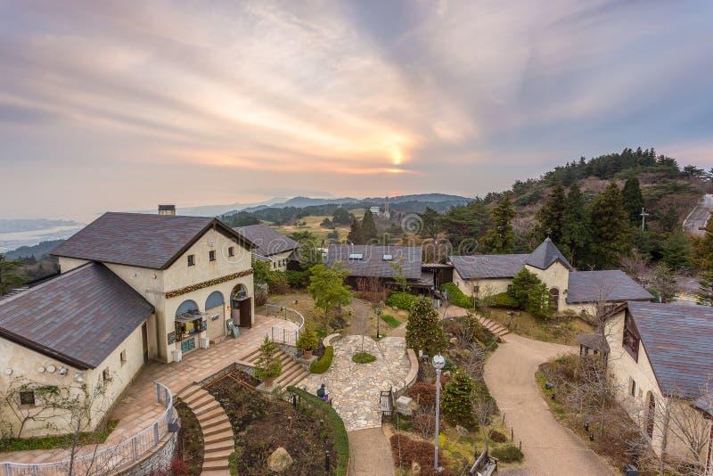 Rokko Garden Terrace imagem de stock royalty free