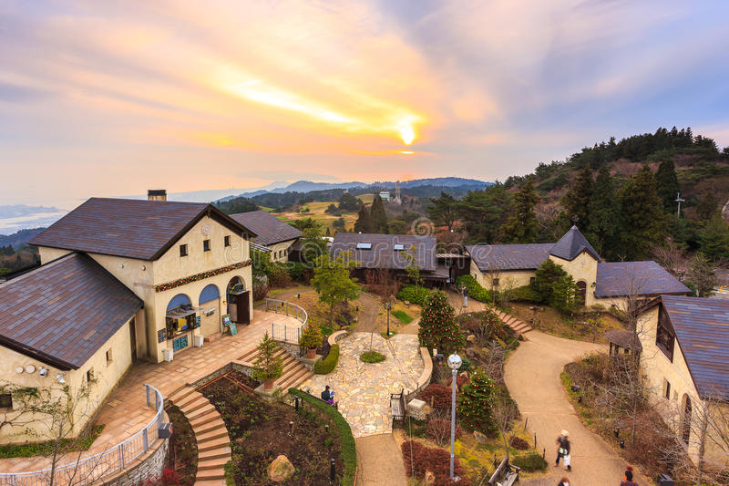 Rokko Garden Terrace fotos de stock royalty free