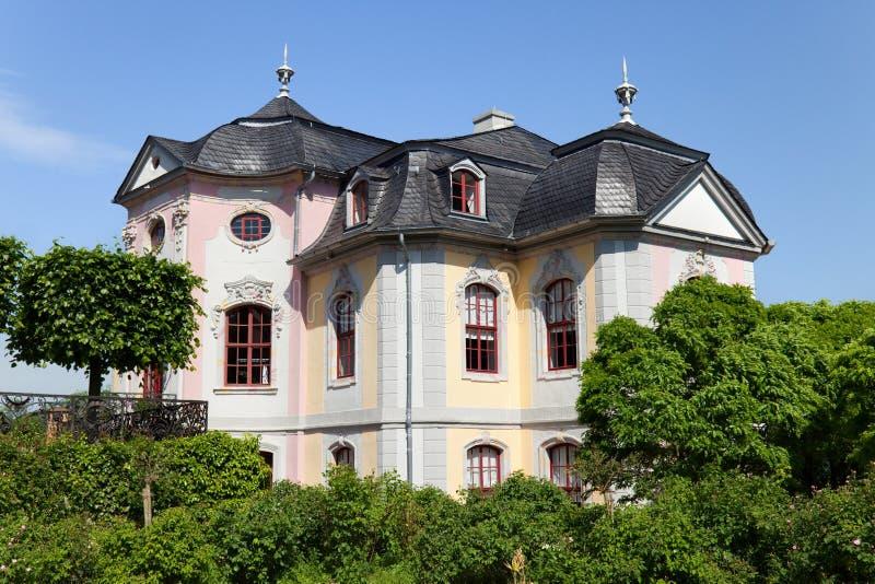 Rokokowy pałac obraz stock