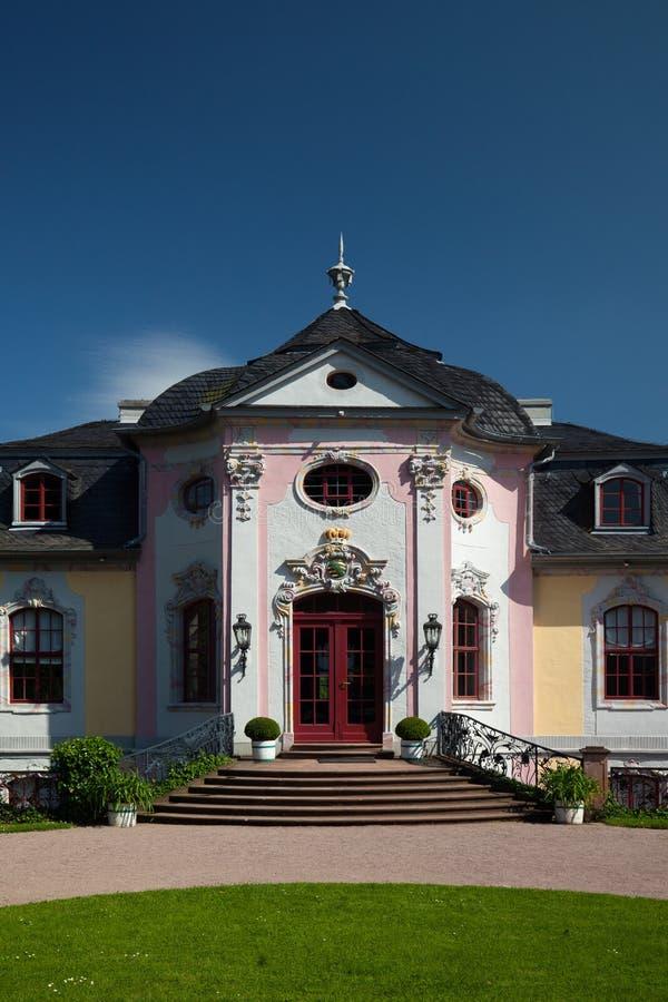 Rokokowy pałac zdjęcia royalty free