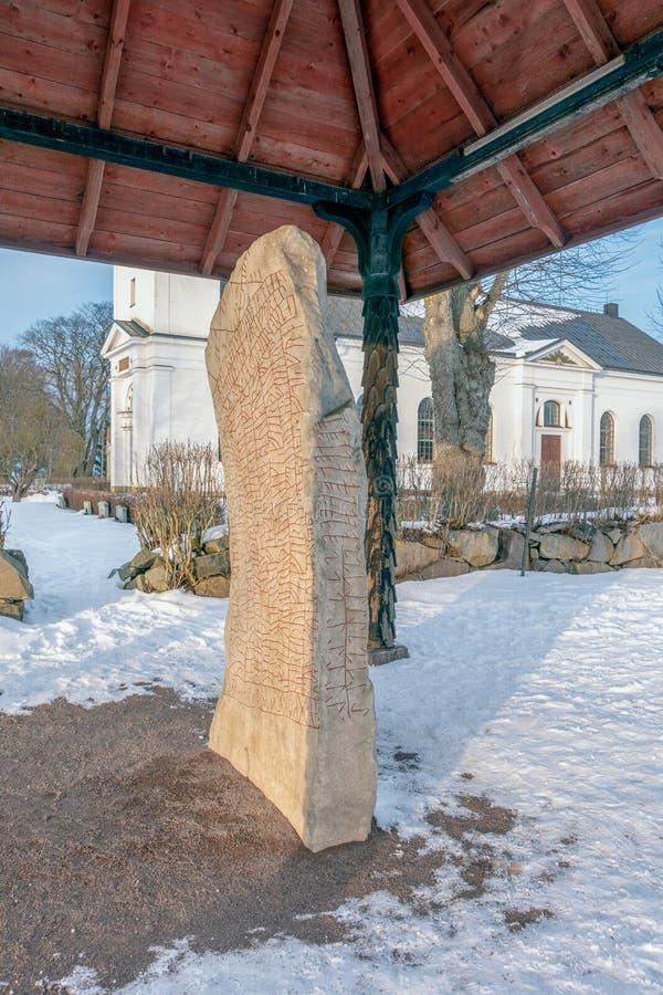 Roku runestone zdjęcia stock