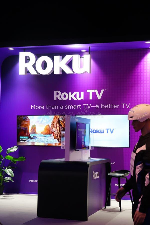 Free Roku Tv Stock Photos - 182006803