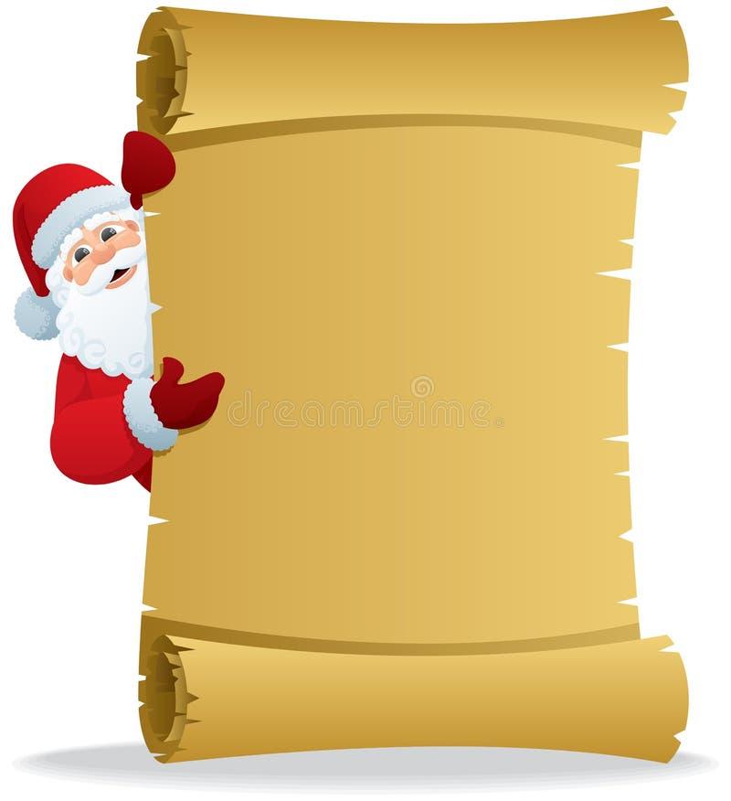 Rol 2 van de kerstman stock illustratie