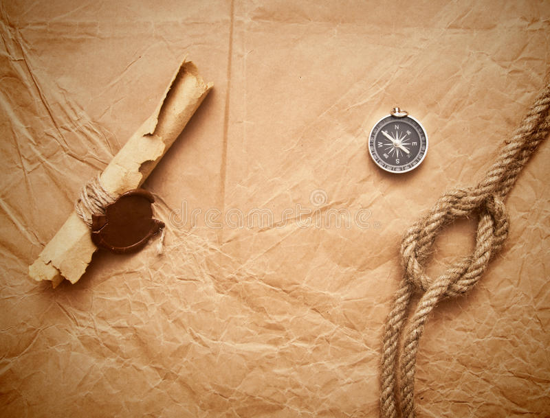 Rol met wasverbinding en kabel royalty-vrije stock foto