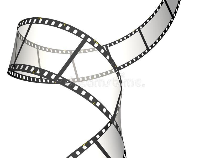 Rol van de film royalty-vrije illustratie