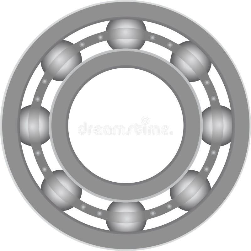Rolamento de esferas ilustração do vetor
