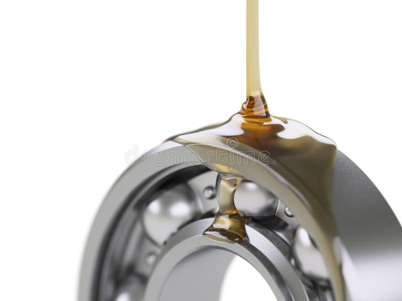 Rolamento de esferas de lubrificação foto de stock