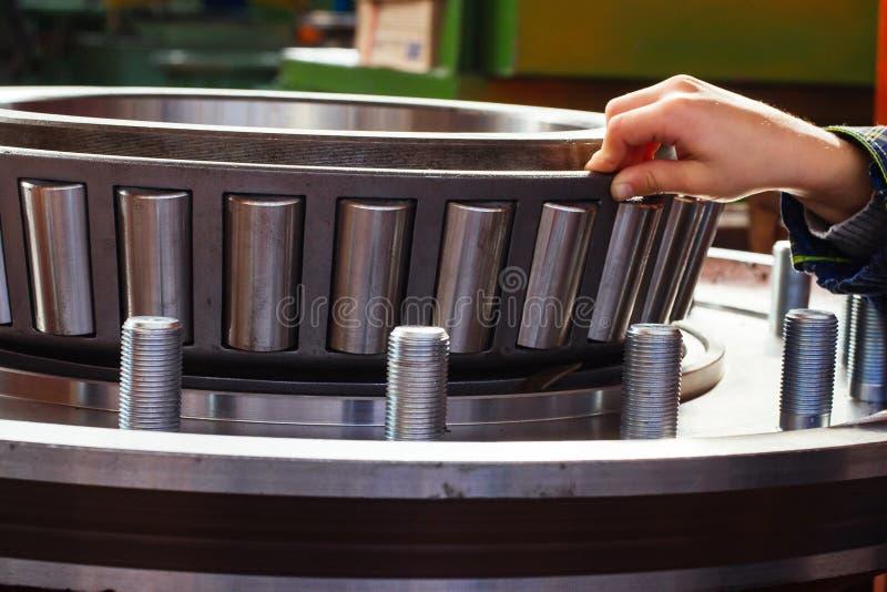 Rolamento de roda enorme foto de stock