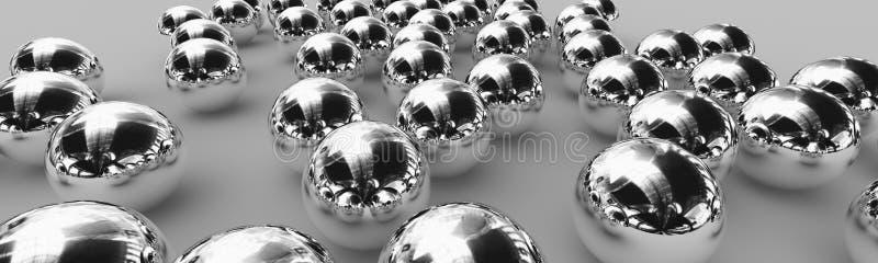 Rolamentos de esferas ilustração stock