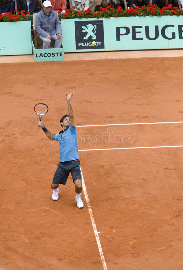 Roland Garros 2009 photos libres de droits