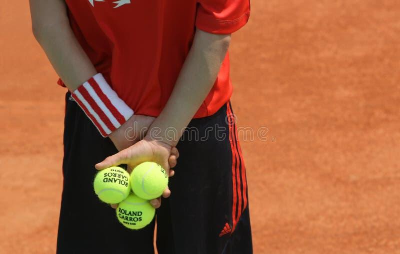 Roland Garros 2010 - a atmosfera fotografia de stock royalty free