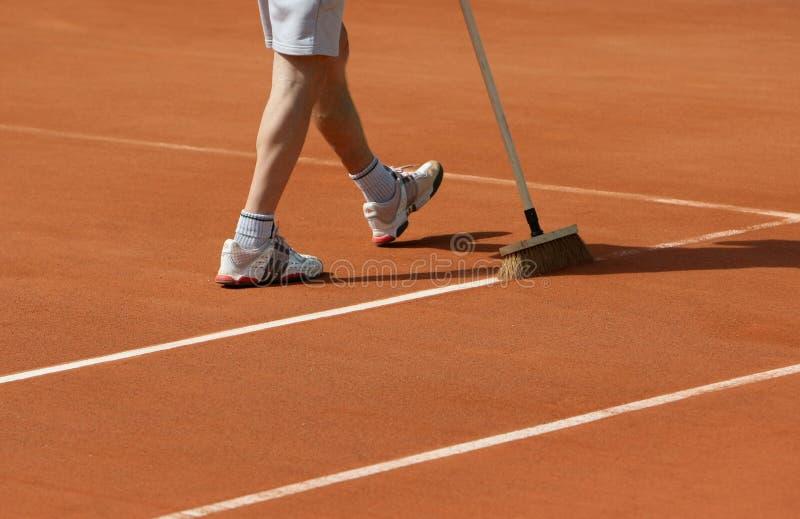 Roland Garros 2010 - line scrub
