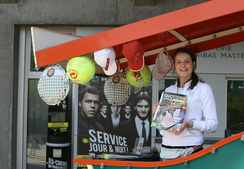 Roland Garros 2010 - Shopping Stand Editorial Image