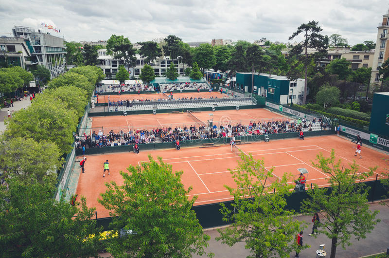 Roland garros stock photo
