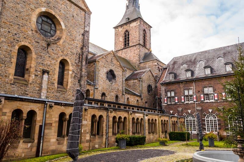 Rolduc - средневековое аббатство в Kerkrade, Нидерландах стоковое фото rf