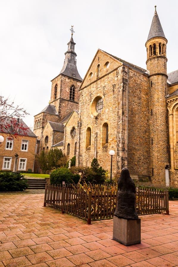 Rolduc - средневековое аббатство в Kerkrade, Нидерландах стоковое изображение rf