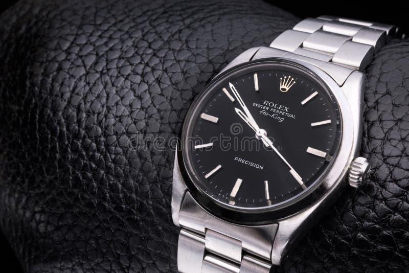 Rolex-Luxepolshorloge stock afbeelding