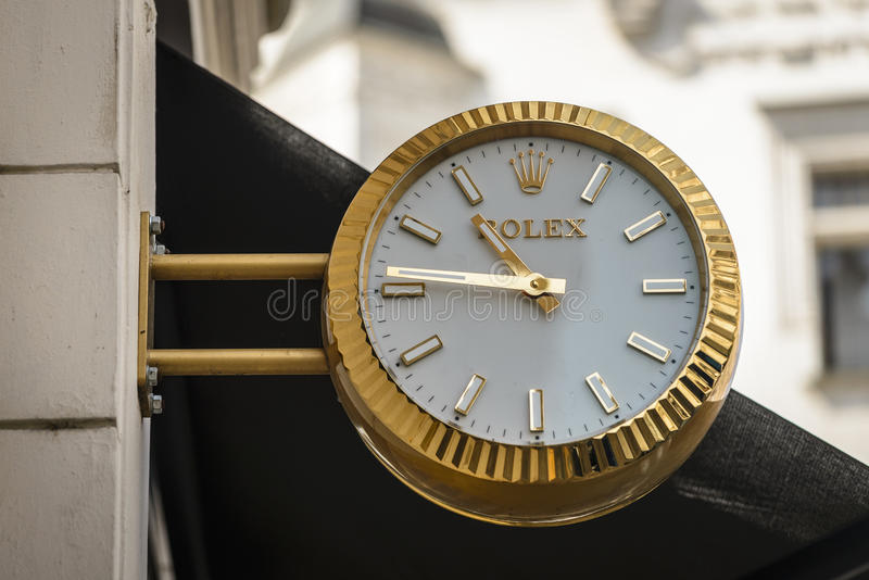 Rolex royalty free stock image