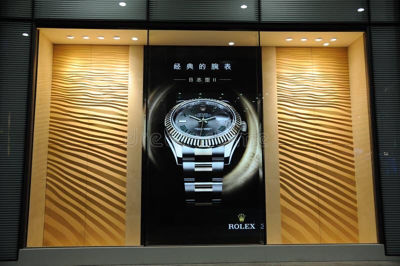 Rolex shop stock images