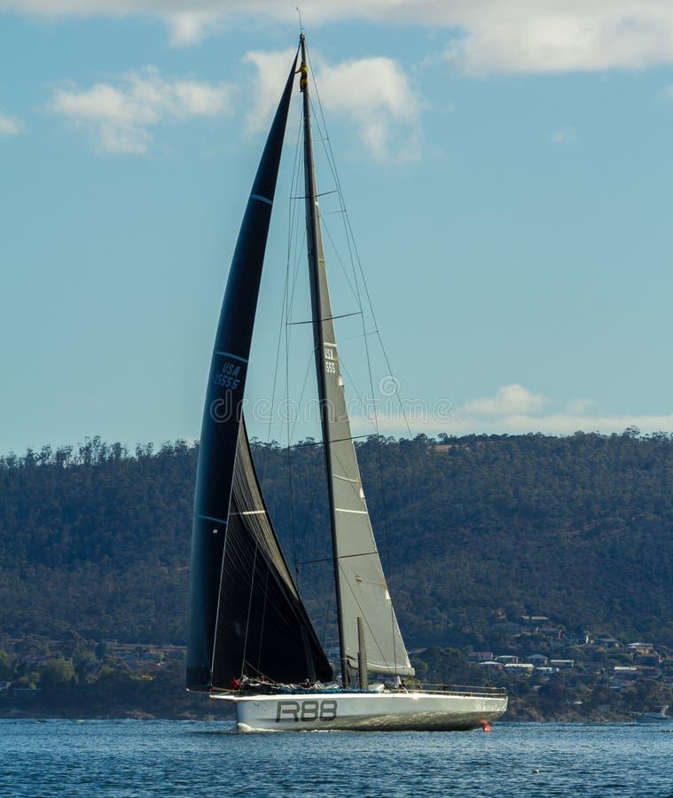 Rolex 2015 Sydney till Hobart Yacht Race arkivbild